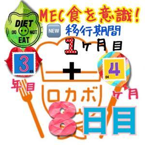 ゆるMEC食3年4ヶ月8日目!ダイエットは一日にして成らず(^^;)【total−15㎏】