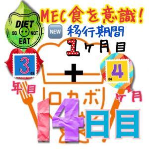 ゆるMEC食3年4ヶ月14日目!トイレに行く回数が少なすぎた(*_*)【total−15.5㎏】