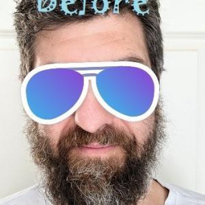 夫のロックダウン髭を段階的に緩和、最終的に解除した件。