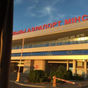 【ベラルーシ】空港、両替、SIMカード、市内中心地までのバス