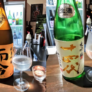 激レア日本酒専門店 de 十四代 而今 花陽浴 射美 松の司 【サケバー アクタ】