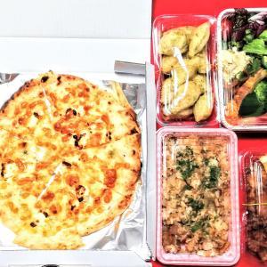Let 's TAKEOUT もちもちゼッポレ & 税別¥500ピザ 【パスタコーヴォ】【ピッツェリアスオナーレ】