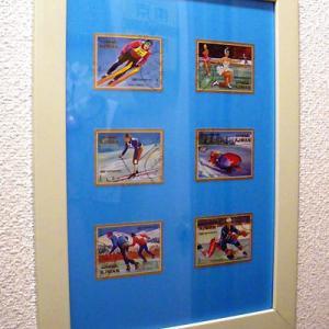 「土侯国のオリンピック切手」で作ったリーフ