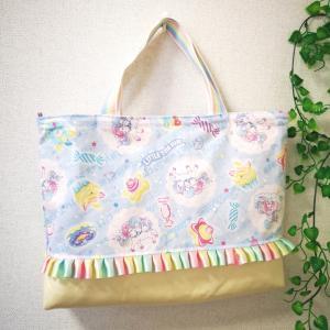 【生徒様作品】レインボーでかわいい♡ピアノ教室用のレッスンバッグ