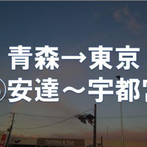 青森→東京 耐久ラン ⑤安達→宇都宮