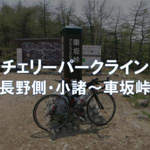 【ルートガイド】チェリーパークライン(長野側・小諸~車坂峠)