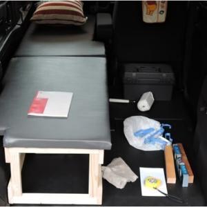 車中泊用ベッド作成(N-VAN)