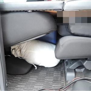 車中泊用ベッドボードの支柱を無くしました(その2)