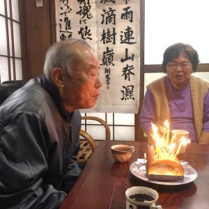 シロシロファミリーのゴッドファーザーは82歳になりました★