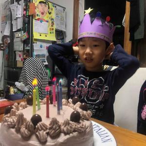 シロシロファミリー末っ子たけしくんの6歳の誕生日☆