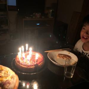 初、息子の誕生日