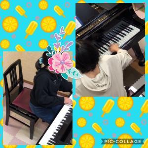 小4、初めての2台ピアノ