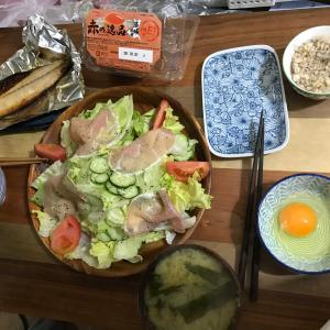 休日に牛丼(*´▽`*)