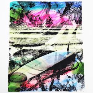 Kris Chatterson Surf Art Project Print