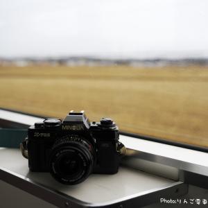 【津軽鉄道】モノクロでストーブ列車
