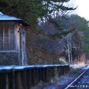 【津軽鉄道】DD350形352号車 汽笛(ラッパ)を響かせ