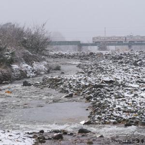 【長野電鉄】3500系 名残雪と思ったこの日