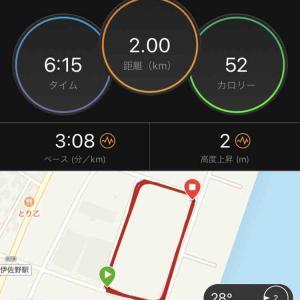 最終刺激 2km+200m×2