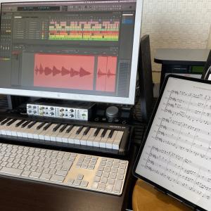 一人多重トロンボーン四重奏曲の録音完了!