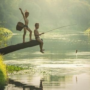 釣りはツイてないが、「マダニ」がツイていた!?