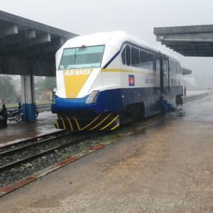 カンボジア・ロイヤル鉄道 シアヌークビル→カンポット乗車記