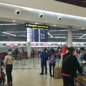 エミレーツ航空EK371便 (ボーイング777-300) プノンペン→バンコク搭乗記