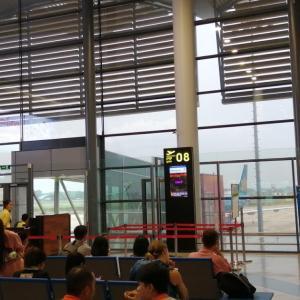ベトナム航空 VN920便 プノンペン→(ビエンチャン)→ハノイ 搭乗記