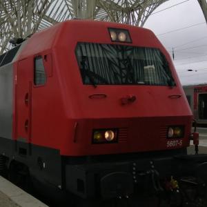CP(ポルトガル国鉄)特急IC リスボン→コインブラ1等車乗車記