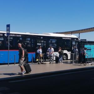 ファロ市内からファロ空港まで路線バスで行ってみた