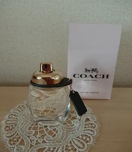 ■COACH オードパルファムは格調高い香り