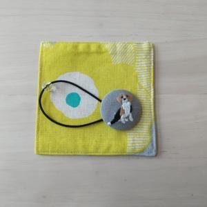 《ちくちく刺繍》ビーグル犬の刺繍に挑戦!