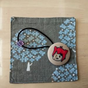 《ちくちく刺繍》娘デザインの莉犬くん刺繍!