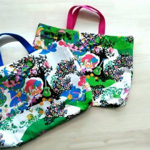入学準備① 手さげバッグを作りました!