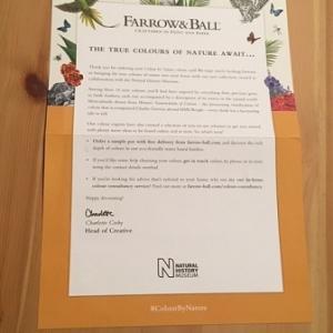 【Farrow & Ball】待望の新色はロンドン自然史博物館とのコラボ!Colour by Nature