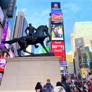 ニューヨークひとり旅⑤雑踏のエネルギー【TIMES SQUARE】