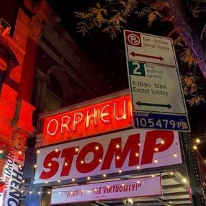 ニューヨークひとり旅⑰すべてが音になる【STOMP at ORPHEUM THEATRE】