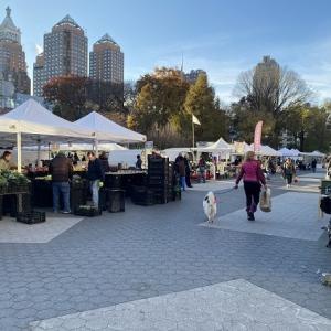 ニューヨークひとり旅⑱青空市場で朝の散歩【UNION SQUARE GREENMARKET】