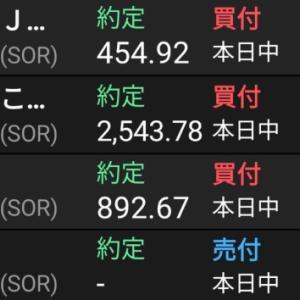KDDIを利確、JT、日本郵政、三菱UFJを買い増し