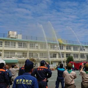 小平市総合防災訓練 @上宿小学校