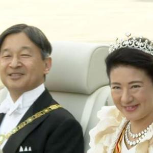 天皇陛下御即位 祝賀御列の儀 奉仕