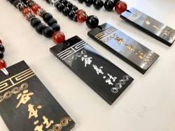 城下・谷本社統制衆数珠ネックレス。