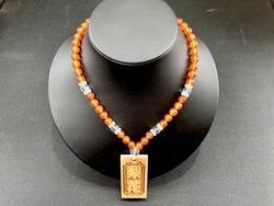 数珠ネックレス【朱珠】色には意味があります☆