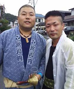 日坂☆祭り男☆数珠ネックレス衆