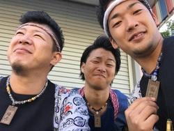 菊川祭り☆派遣と数珠ネックレス☆