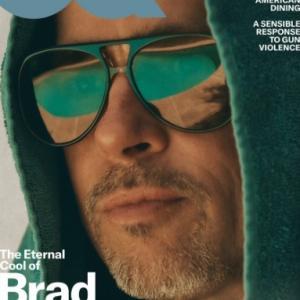 ブラッド・ピット、『GQ』の写真が渋すぎ