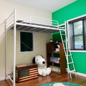 web内覧会。ニトリのロフトベッドを装備した子供部屋。
