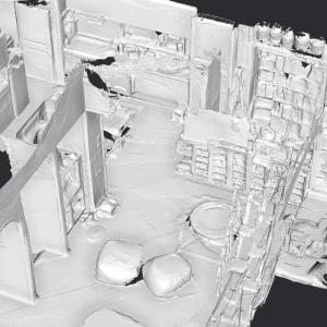 無料の3Dスキャンアプリで自宅の拓本をつくる。