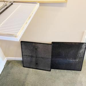 全館空調のフィルターは2枚体制としています。