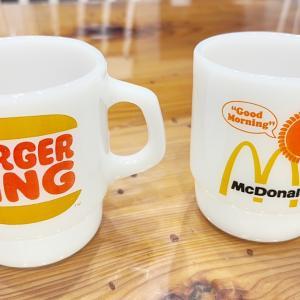 ハンバーガーチェーンのファイヤーキングマグ。