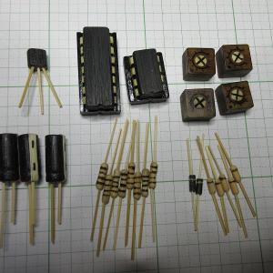 竹クラフト 電子パーツ